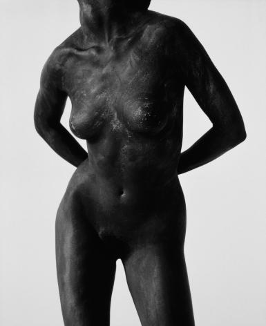 Black Female Torso, Los Angeles, 1987, 20 x 16 Inches, Silver Gelatin Photograph, Edition of 25