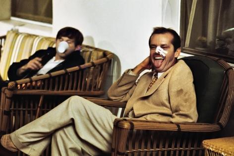 Jack Nicholson and Roman Polanski on set of Chinatown, Los Angeles, CA, 1973, Archival Pigment Print