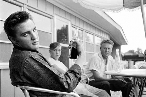 Pepsi in Hand, 1956