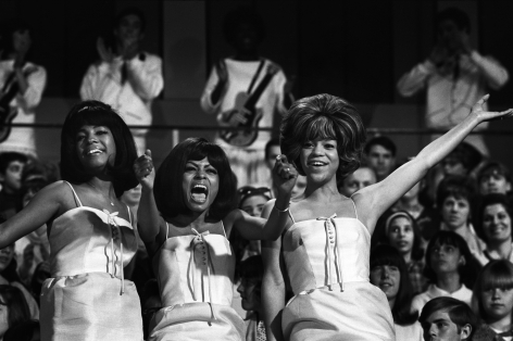 The Supremes, New York, 1965, Silver Gelatin Photograph