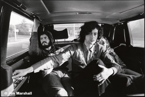 Led Zeppelin, Los Angeles, 1971, 11 x 14 Silver Gelatin Photograph