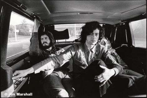 Led Zeppelin, Los Angeles, 1971, 11 x 14 Silver Gelatin Photograph