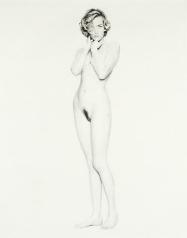 Tatiana, Paris,1991, Archival Pigment Print