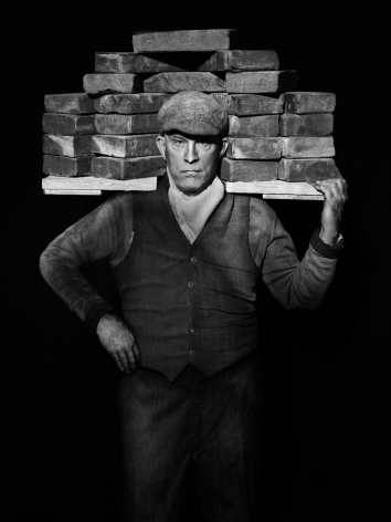 August Sander / Bricklayer (1928), 2017, 10 x 8 Archival Pigment Print, Ed. of 35