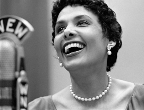 Lena Horne, New York City, 1950, 11 x 14 Silver Gelatin Photograph