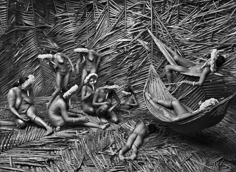 Zo'e Group, State of Para, Brazil 2009, 16 x 20 inches, Silver Gelatin Photograph