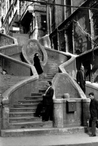 Turkey (steps), 1965, 11 x 14 Silver Gelatin Photograph