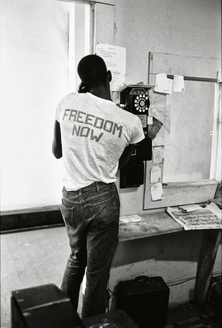 """Freedom Now, """"Summer of '64,"""" 1964, 20 x 16 Inches, Silver Gelatin Photograph, Edition of 25"""