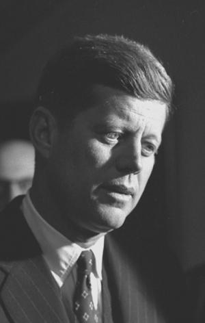 John F. Kennedy, at Tammany Hall, NYC,1959, Silver Gelatin Photograph