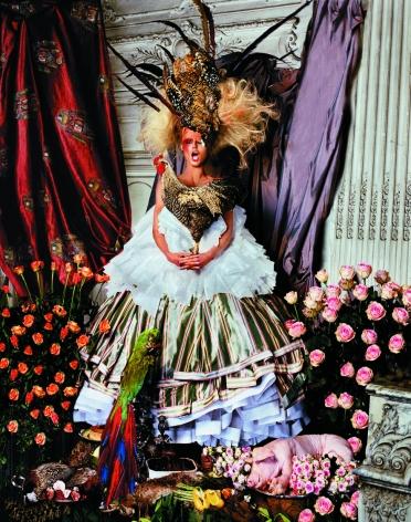 Heidi Klum, Christian Dior, Paris, France, 2003, 20 x 16 inches, Archival Pigment Print, Edition of 15