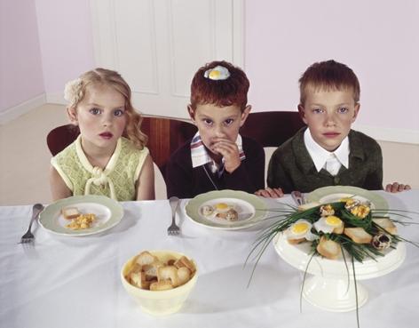 Dinner #02, 2001, 16 x 20 Digital C Print, Ed. 7