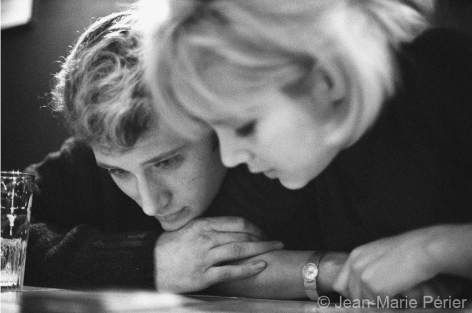 Johnny Hallyday and Sylvie Vartan, Strasbourg, June 1963, C-Print