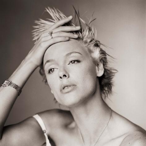 Brigitte Nielsen, Without Makeup I, Los Angeles, 1986, Archival Pigment Print