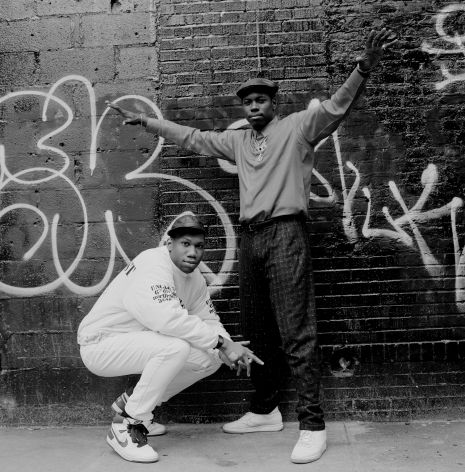 BDP Scott La Rock & KRS One, NYC, 1987, 16 x 20 inches - Archival Pigment Print - Edition of 50