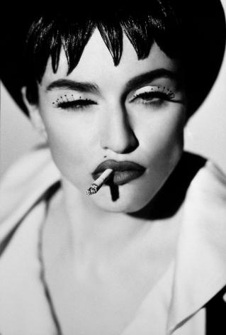 Madonna IV, San Pedro, 1990, 14 x 11 Inches, Platinum Photograph, Edition of 25