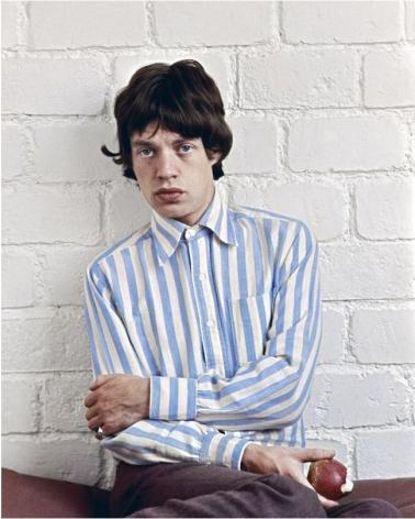 Mick Jagger, Paris, 1966, C-Print