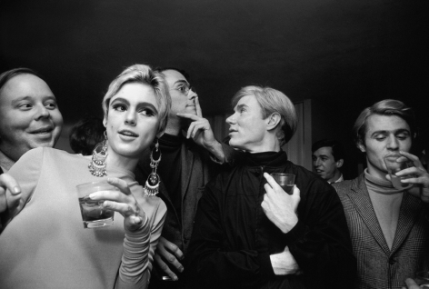 Steve Schapiro Andy Warhol, Edie Sedgwick and Entourage, New York, 1965