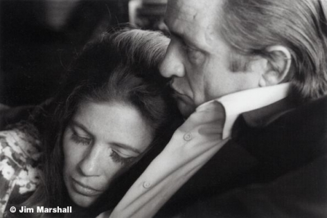 Johnny Cash and June Carter, 1969, 11 x 14 Silver Gelatin Photograph