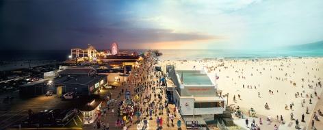 Santa Monica Pier, LA, 2013, C-Type Print