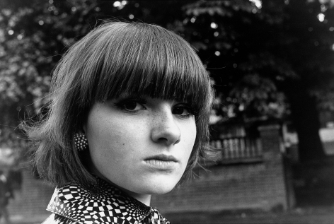 Mod Girl Streatham 1976, 16 x 20 inches - Archival Pigment Print - Edition of 50