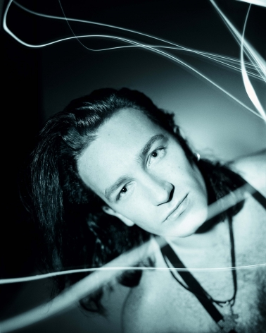 Bono, Light Trails, Dublin, 1987, Archival Pigment Print
