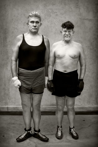August Sander / Boxers (1929), 2017, 10 x 8 Archival Pigment Print, Ed. of 35