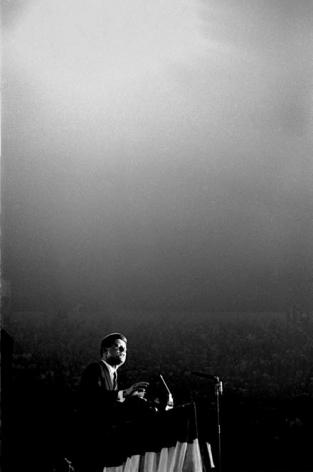 John F. Kennedy in Los Angeles, 1960, Silver Gelatin Photograph