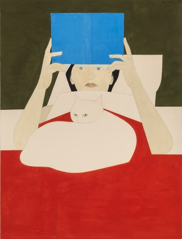 Will Barnet (1911-2012), Woman Reading, 1970