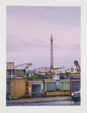 Frederick Brosen (b. 1954), West 12th Street, Coney Island, 2018
