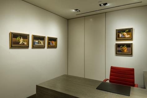 installation view of David LigareStill Lifeat Hirschl & Adler Modern, September 12 - October 13, 2018