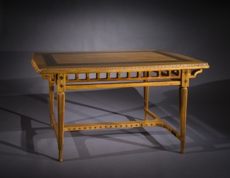 Tiffany Glass & Decorating Company, New York (active 1892-1902), Library Table, about 1891-93