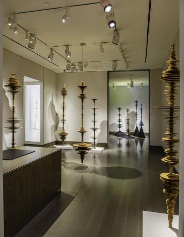 "installation view of Elizabeth Turk, ""Tipping Point - Echoes of Extinction"" at Hirschl & Adler Modern, October 1 - November 20, 2020"
