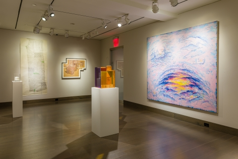 "installation view of ""Our Secret Fire"" at Hirschl & Adler Modern, September 9 - October 8, 2021"