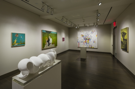installation view of Bread & Salt at Hirschl & Adler Modern, March 1 - Aprill 7, 2018