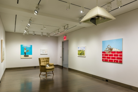 "installation view of ""Every Lie to Truth"" at Hirschl & Adler Modern, March 12 - April 10, 2020"