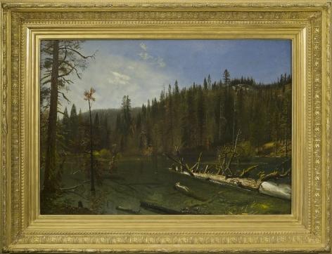 Alber Bierdstadt (1830-1902), California on the Truckee River, 1872