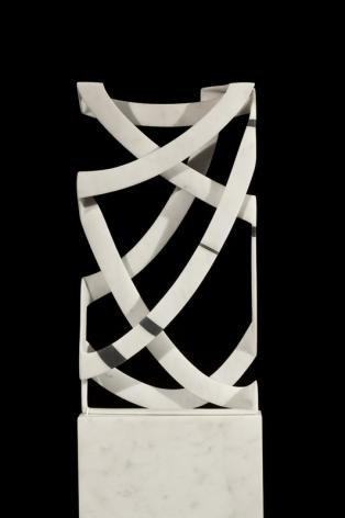 Elizabeth Turk (b. 1961), Cage: Black Banded Box 4, 2014