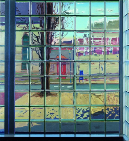 Frankford Station, 2012, Oil on canvas, 70 x 64 in.