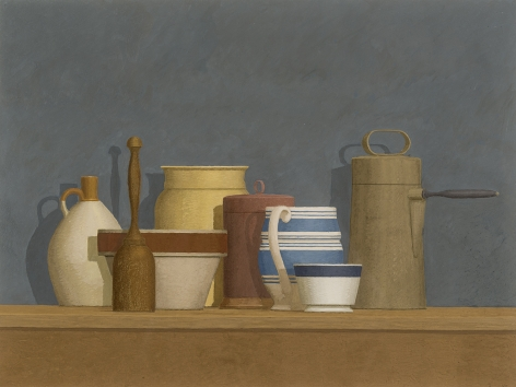 William Bailey (b. 1930), Still Life - Niccone, 1982