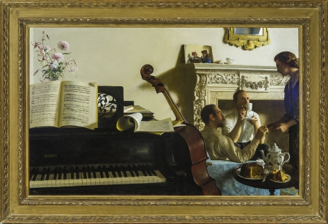 John Koch (1909-1978), Three Musicians, 1958