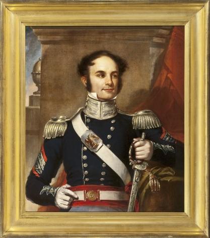 MANUEL JOACHIM DE FRANÇA (1808-1865), Portrait of Colonel James Page, 1838