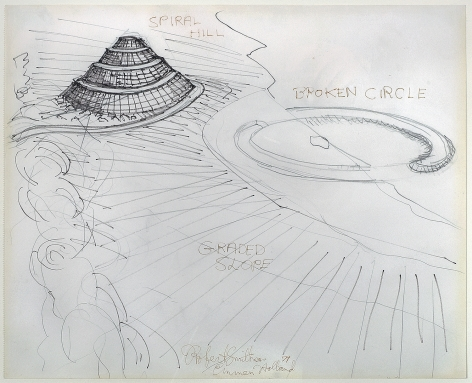 Robert Smithson (1938-1973), Broken Circle / Spiral Hill, 1971