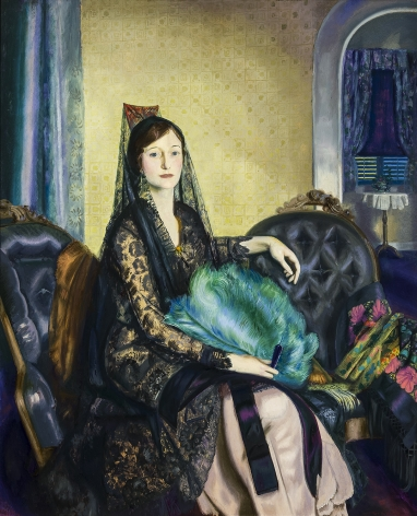George Bellows (1882-1925), Portrait of Elizabeth Alexander, 1924