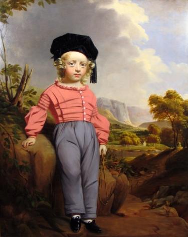 WILLIAM HAMILTON (1795- ca. 1879), Master William Burrows of Tarrytown, New York, 1835–42