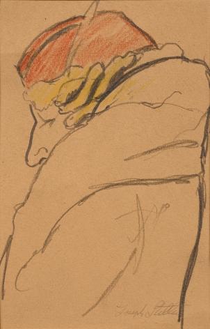 Joseph Stella (1877-1946), Red Hat