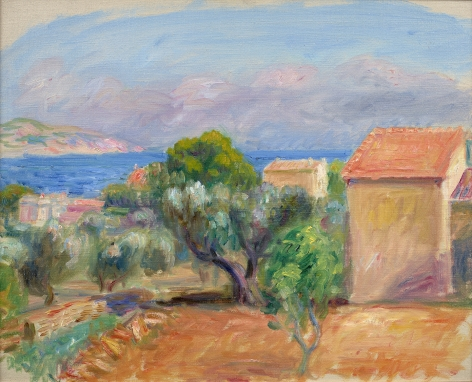William Glackens (1870-1938), La Ciotat, circa 1930