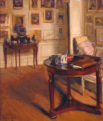 Walter Gay (1856-1937), Parlor Scene, Chez Helleu, Paris