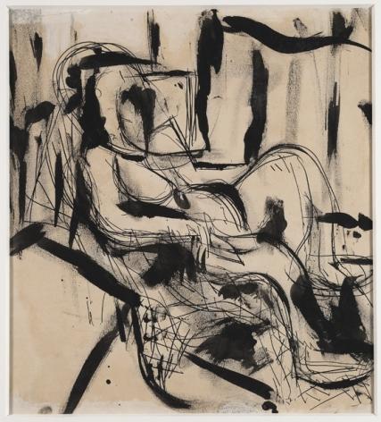 Grace Hartigan (1922-2008), Seated Figure I, circa 1952