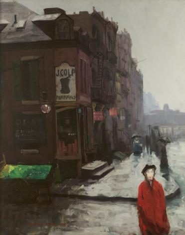 Stuart Davis (1892-1964), Bleecker Street, 1912-1913