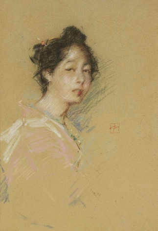 Robert Frederick Blum (1857-1903), Japanese Girl